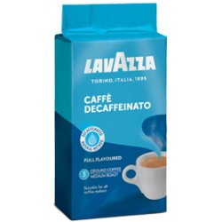 Lavazza Decaffeinato кофе молотый